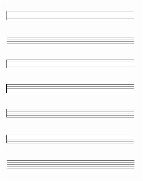 Printable Sheet Music Free Blank | free printable sheet music