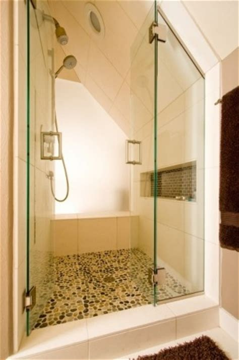 25 best ideas about attic shower on small