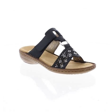 navy blue sandals rieker 60871 14 navy blue sandals rieker