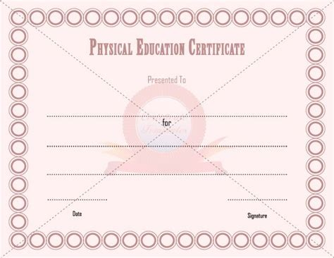 free educational certificate templates certificate templates education free choice image