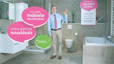 badkamer deals brugman nieuwe tv commercial voor brugman keukens badkamers