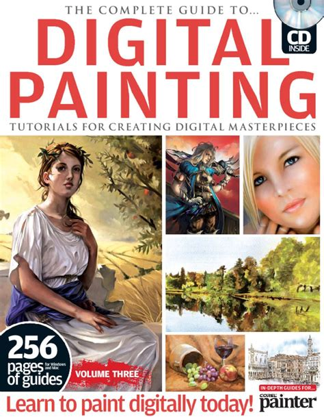 Magazine Show Vol 2 April 10 Featuring by The Complete Guide To Digital Painting Vol 3 Magazine