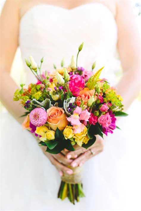 fiori bouquet bouquet colorato il bouquet da sposa perfetto per un