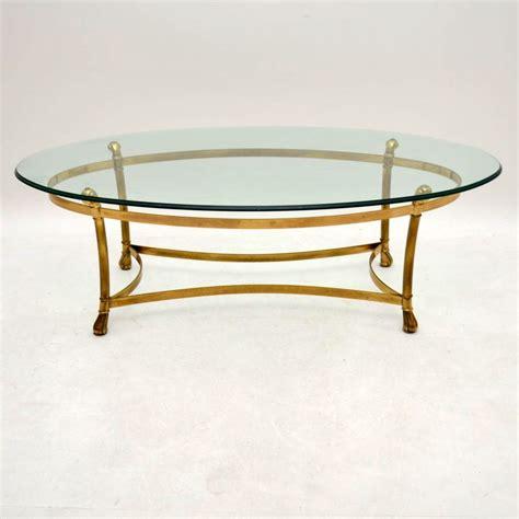Retro Glass Coffee Table Retro Brass Glass Coffee Table Vintage 1970 S Retrospective Interiors Vintage
