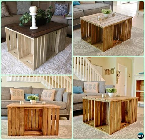 wood crate coffee best 25 wood crate table ideas on diy crate