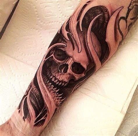 tattoo skull designs free free cool realistic skull tattoos