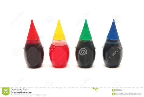 Colorante Alimentario Imagen De Archivo Imagen De Aislado Imagenes De Colorantes L