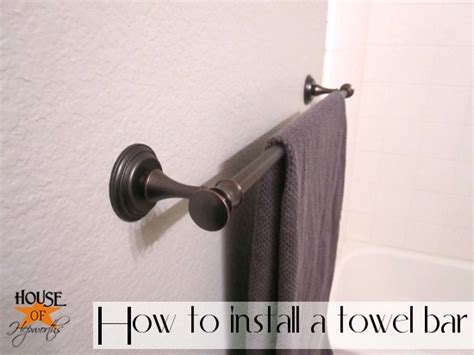 where to install towel bar in bathroom more progress new hardware in the guest bathroom