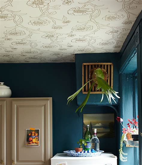 Wallpapers For Ceiling by Design Trend Wallpaper Featured On The Ceiling