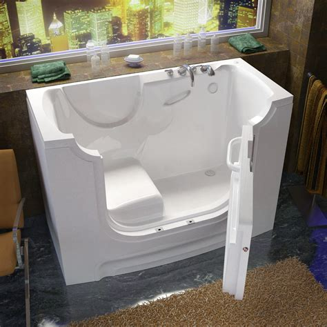 bathtub 30x60 venzi 30x60 right drain white soaking wheelchair