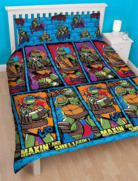 Tmnt Bedding by Mutant Turtles Duvet Quilt