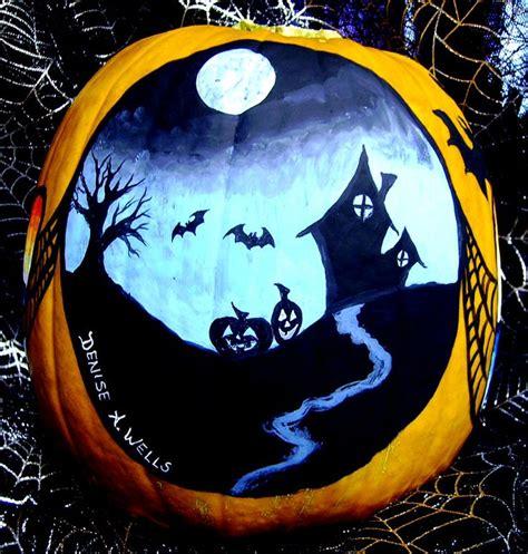 painted pumpkin ideas halloween pinterest pumpkins