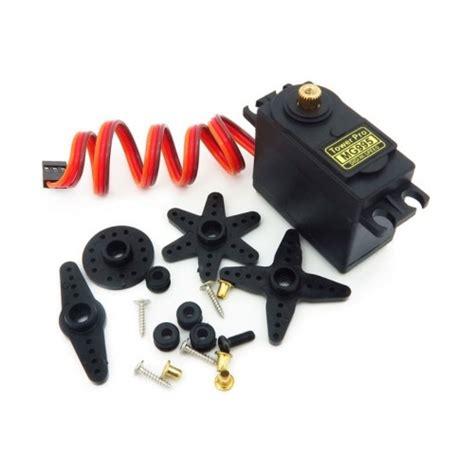 Produk Towerpro Mg995 Metal Gear towerpro mg995 continuous rotation 360 176 metal gear servo