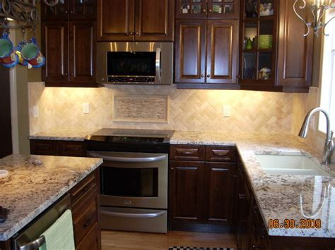 kitchen travertine backsplash herringbone travertine backsplash