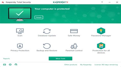 Kapersky Security kaspersky total security review rating pcmag