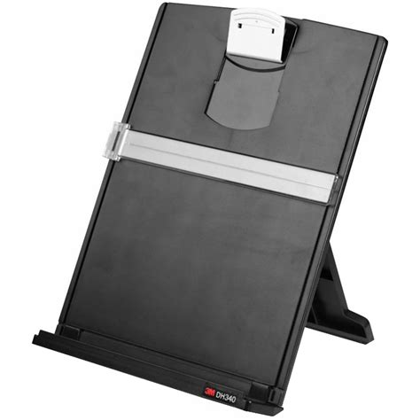 desk document holder stand 3m desktop document holder dh340mb at the human solution