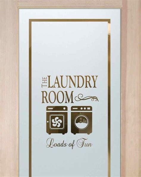 Laundry Room Door Etched Glass Laundry Room Doors Loads Of Wd Eclectic Interior Doors Other Metro By Sans Soucie