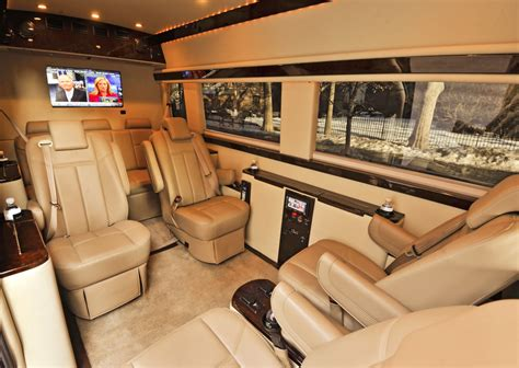 luxury mercedes sprinter mercedes sprinter vans turned into luxury limo service