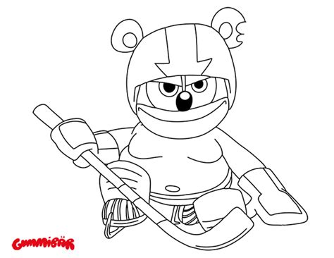 coloring pages gummy bear coloring page archives gummib 228 r