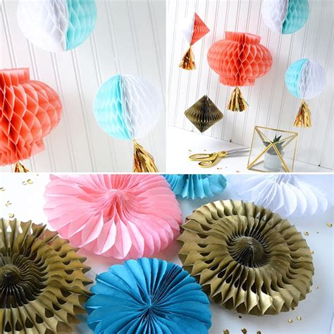 honeycomb decorations aly dosdall honeycomb paper decorations