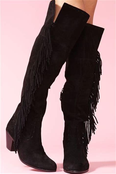gal thigh high boots gal luella thigh high boot black in black lyst