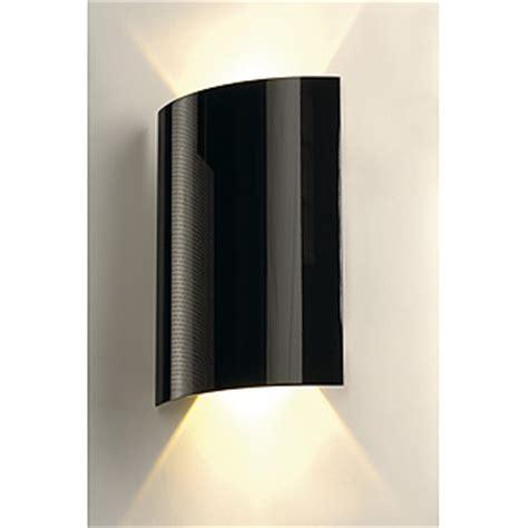 Black Wall Sconces Indoor Slv Lighting 151610 Led Sail 2 Indoor Led Wall Light In