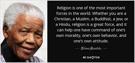 nelson mandela quote religion      important forces