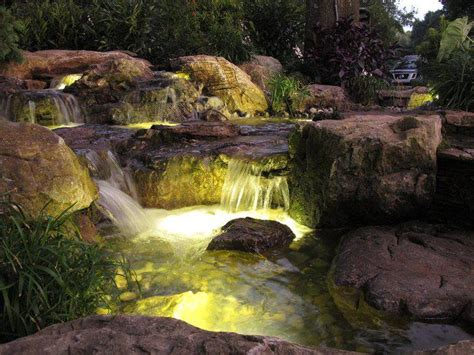 Aquascape Pond Lights by Pond Lighting Led Pricing Tx Ft Worth Decatur