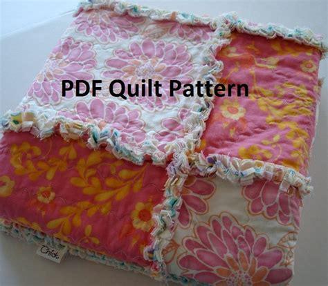 reverse pattern in c pdf rag quilt pattern simple reverse rag quilt by