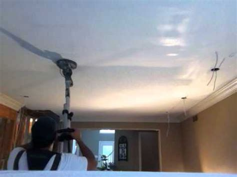 bob the fixer ceiling popcorn removal drywall sanding 90