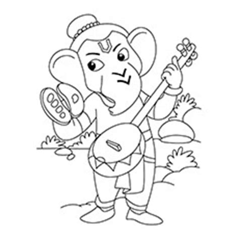 cute ganesha coloring pages ヾ ノ10 cute lord ᗔ ganesha ganesha coloring pages for