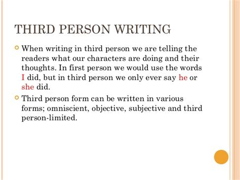 How Do You Write A Paper In Third Person by How Do I Write An Essay In Third Person Writing