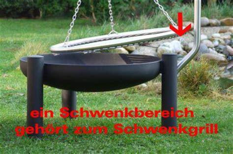Feuerschale Edelstahl Mit Funkenschutz by Schwenkgrill Feuerschale Grill Mit Beleuchtung Kaufen