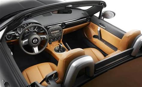 Mazda Miata Interior by Car And Driver