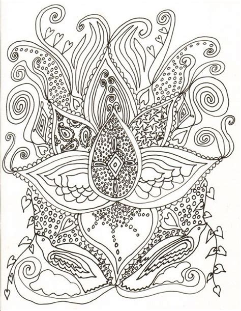 unique coloring pages for adults 128 best images about unique coloring books and