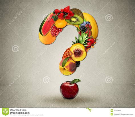 fruit questions fresh diet questions concept fruits shape question