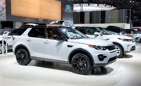 new land rover engines land rover discovery sport and evoque get new engines