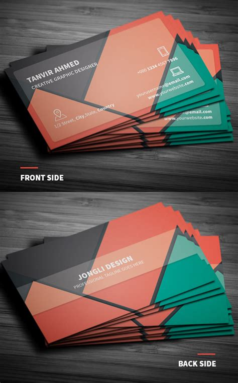material design business card template free 30 free business card psd templates mockups design