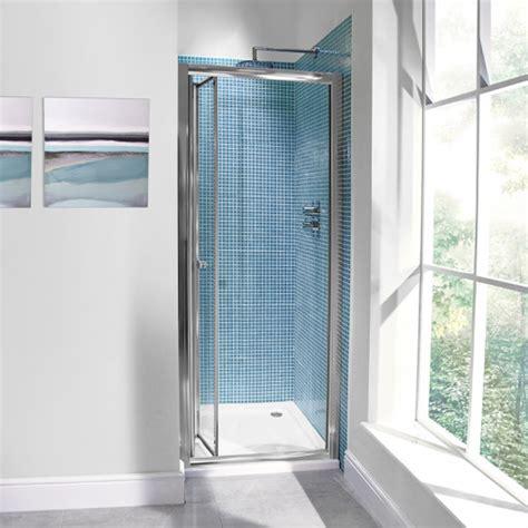 Bi Fold Shower Door 760 Aquafloe 6mm 760 Bi Fold Shower Door