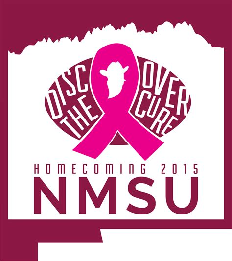 canvas nmsu nmsu homecoming tough enough to wear pink game is oct 24