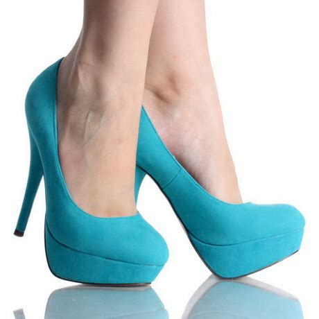 turquoise high heels shoes turquoise high heels