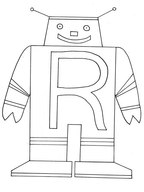 R Coloring Page letter coloring pages coloring pages to print