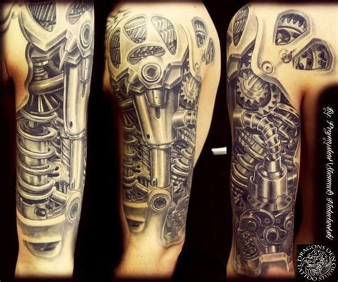 biomechanical gear tattoo sleeve 17 best images about biomechanic tattoo on pinterest