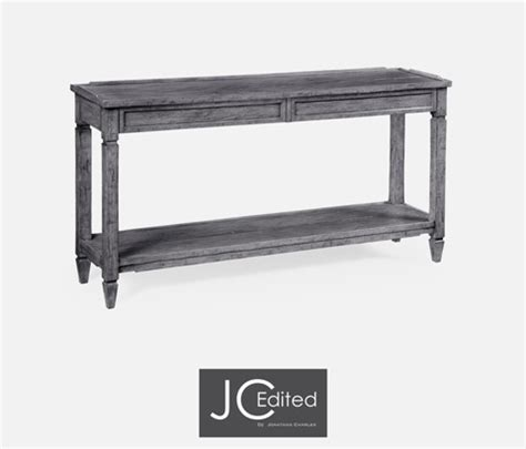 grey console table with drawers console table with drawers in antique grey 491024