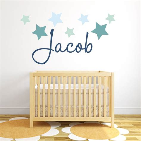 Wall Stickers name fabric wall stickers by littleprints