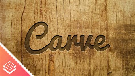 typography on wood inkscape tutorial carved wood effect