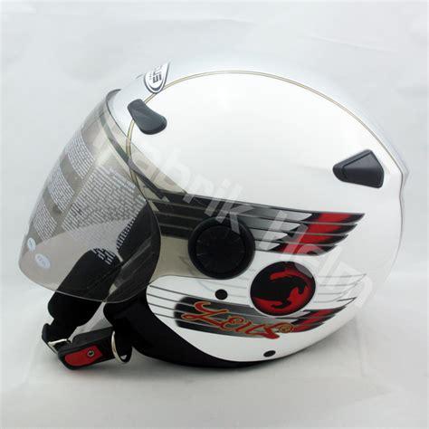 Helm Zeus Zs 210 helm zeus zs 210b putih silver pabrikhelm jual helm murah