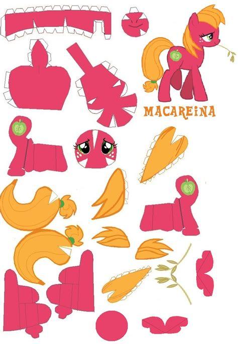 my pony paper crafts macarana papercraft by dryroutetodevon on deviantart