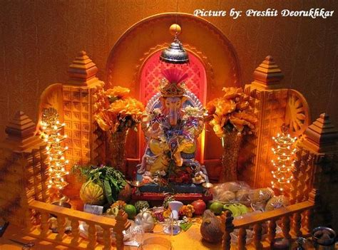 home decoration of ganesh festival 17 best images about ganesh decoration 2015 on