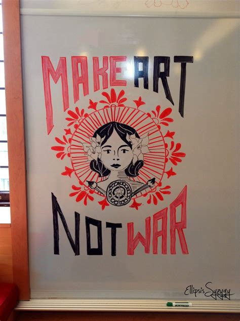 Make Not War Poster Frame 35rb the gallery for gt obey make not war poster